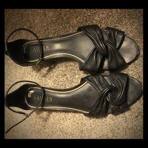 Vintage Ralph Lauren Wedge Sandals